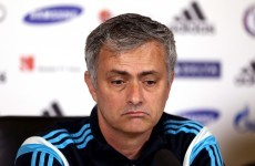 Today's game 'most important' final of my career, says Mourinho