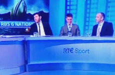ROG struggled to compose himself as someone's phone went off live on air on RTÉ today