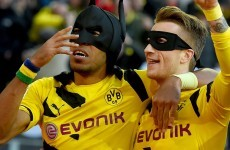Borussia Dortmund's dynamic duo bring the fun back with Batman & Robin celebration