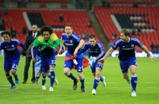 Remember John Terry's full-kit fiasco? It must be a Chelsea thing because it happened again…