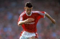 A tricky young winger named Ryan Giggs made his Man United debut 24 years ago today