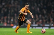 Robbie Brady could be out for season after falling 'down a hole' in training ground