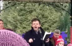 """Believe in something!"" – Here's why everyone's talking about Michael Sheen's stirring speech"