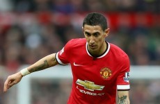 Van Gaal: Di Maria needs a year to settle at United