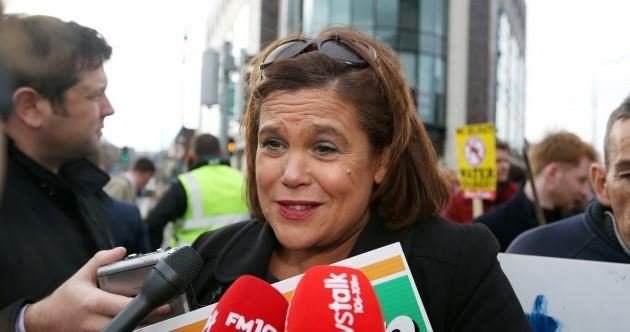 Sinn Féin wants Mary Lou to be Taoiseach and people to not 'throw around' the Irish flag