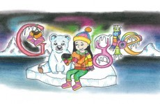 75 students compete to have drawing shown on Google's Irish homepage