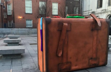 Somebody left oversized suitcases all over Dublin and here's why*