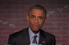 Barack Obama reads mean tweets about himself*