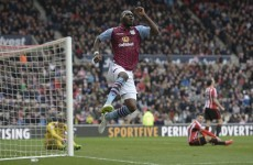 Aston Villa had 4 away goals all season but scored as many in the first half today