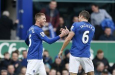 Ireland's James McCarthy was on the scoresheet as Everton secured a vital victory today