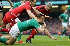 'I was close' – Ireland's Bowe agonisingly short of crucial try against Wales