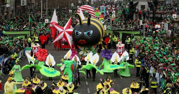 34 great photos from St Patrick's Day parades around the country