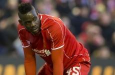 Mario Balotelli has just two words for his critics