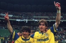 It's 20 years since that glorious Parma team won the Uefa Cup & now the club is in disarray