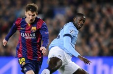 As it happened: Barcelona v Man City, Champions League