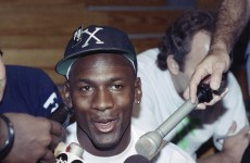 Here's the perfect 2-word statement Michael Jordan sent out to announce his return to the NBA 20 years ago