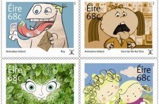 Bring these Irish animation stamps to life with your smartphone