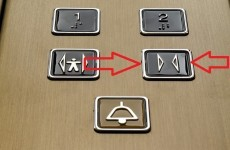 The Burning Question*: Do you press the button to close the doors on a lift?