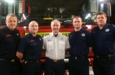 These fire fighters delivered a baby in its mum's car at the station