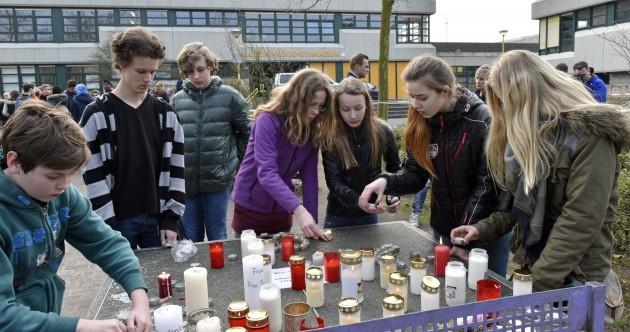 16 German schoolchildren on board crashed plane
