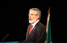 Labour TD calls Gerry Adams 'a sponger' for not paying water charges