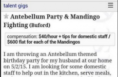 This Craigslist ad had the most racist job description ever