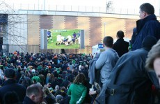 We're still a bag of nerves watching Irish fans bear England V France in Murrayfield