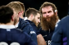 The most monstrous beard in rugby is sadly going to be cut down in its prime