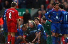 Alan Smith insists Liverpool fans didn't attack his ambulance after horror injury