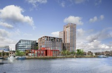 "This ""visionary"" new development (with a tower and park) is planned for Dublin's Docklands"