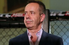 From League of Ireland referee to Europe's main man in the UFC
