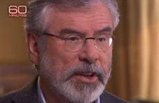 Gerry Adams tells US television: 'I never pulled a trigger, ordered a murder or set off a bomb'
