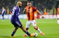 Wesley Sneijder has apologised to Leeds fans for sending a very ill-advised tweet
