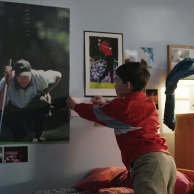New Nike commercial tells the story of how Rory McIlroy grew up worshipping Tiger Woods