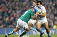 Munster won't be signing this Argentinian transfer target