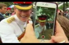 Prince Harry beautifully shut down a fan asking for a selfie