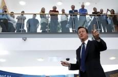 David Cameron defends tough sentencing for rioters
