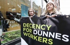 Thursday: Dunnes Stores strike… Friday: Dunnes Stores dismissals