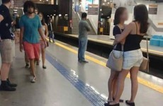 This picture of two women in an embrace is going viral, but not for the reason you'd think