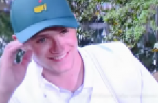 Rory's caddy Niall Horan snots himself, 'apologises to golf' for poor shot