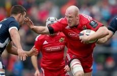 Six Nations-winning trio return for Munster's visit to Edinburgh