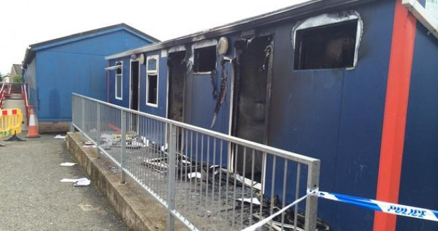 Arson attack on Christian Brothers school