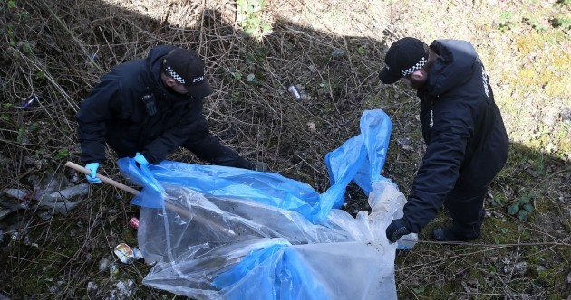Man detained in search for missing Karen Buckley