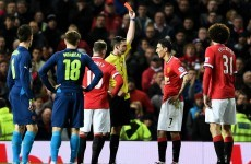 Di Maria red card saved Manchester United's season – Scholes