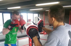 We sent one of our journalists to Dublin's newest boxing gym to see how fit he really is