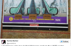 Some genius made this wonderful alteration to a UKIP poster