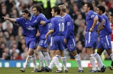How many of these names do you remember from United v Chelsea in 2005?