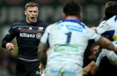How did Chris Ashton get away with this no arms tackle which prevented a certain Clermont try?