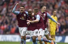 Jack Grealish played a key role for Villa as they beat Liverpool at Wembley