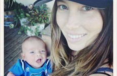 Justin Timberlake shared a photo of his tiny son and the internet can't cope